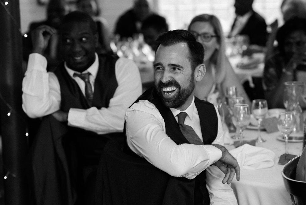 Wedding Speech at The West Mill Derby