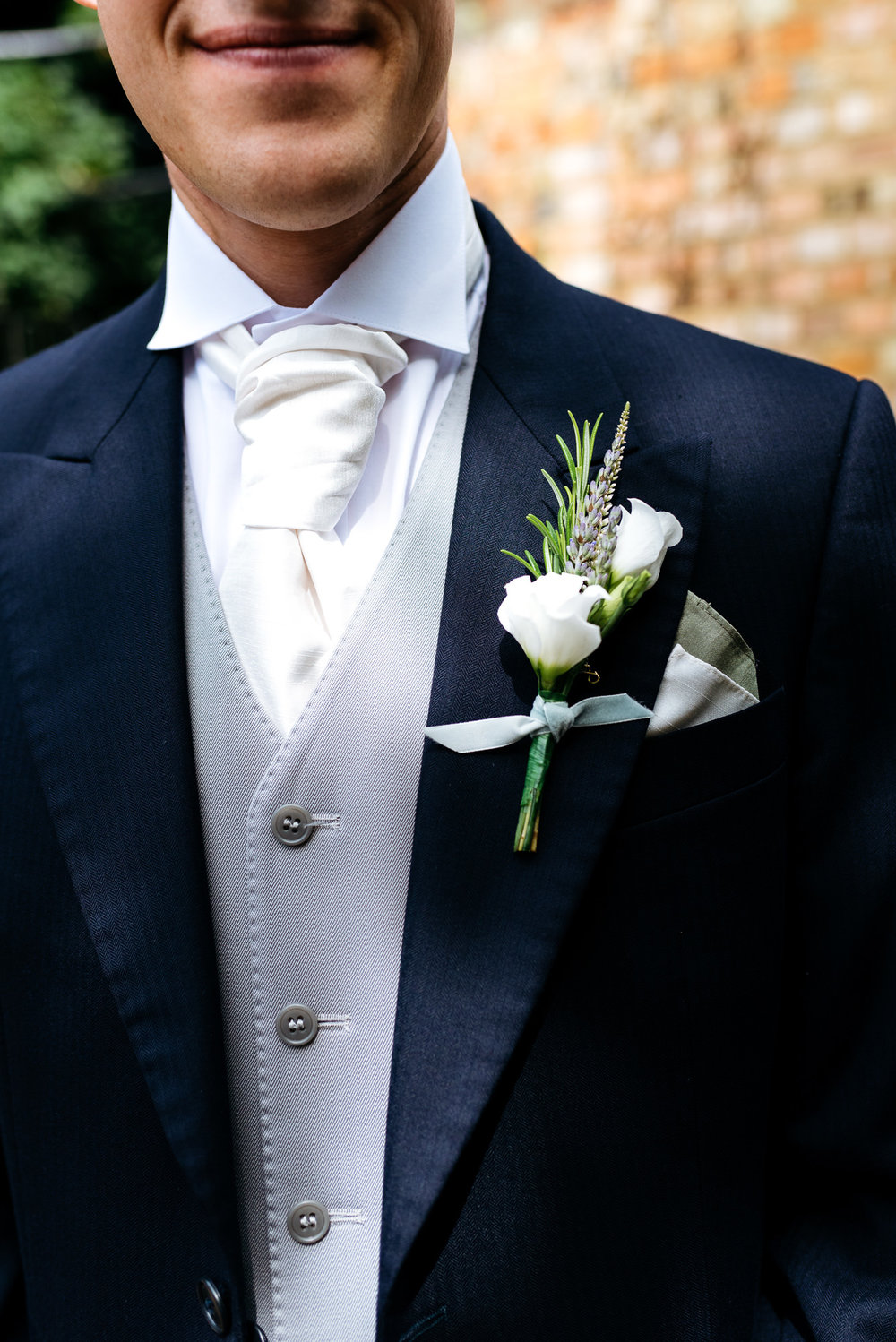 Groom at Narborough Hall Gardens