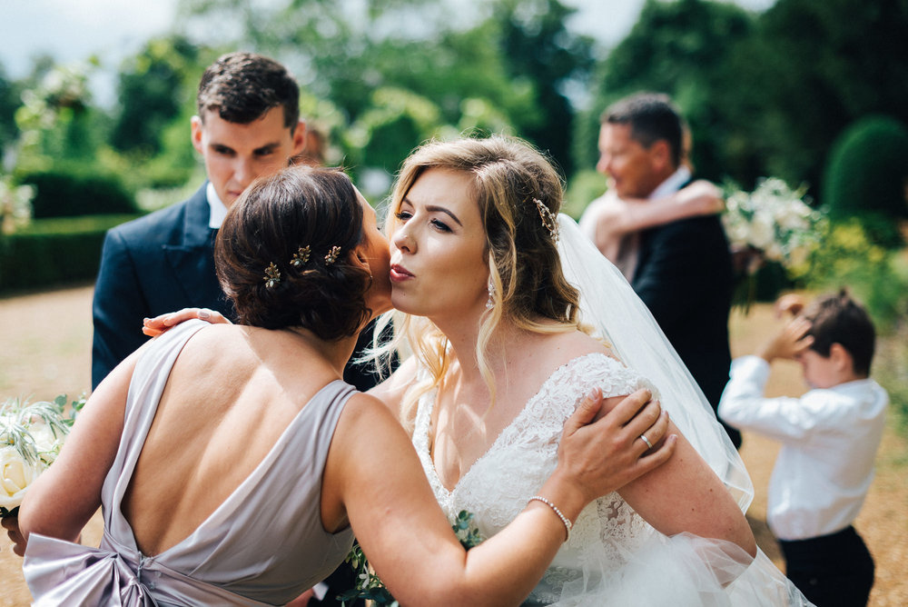 Wedding day at Narborough Hall Gardens