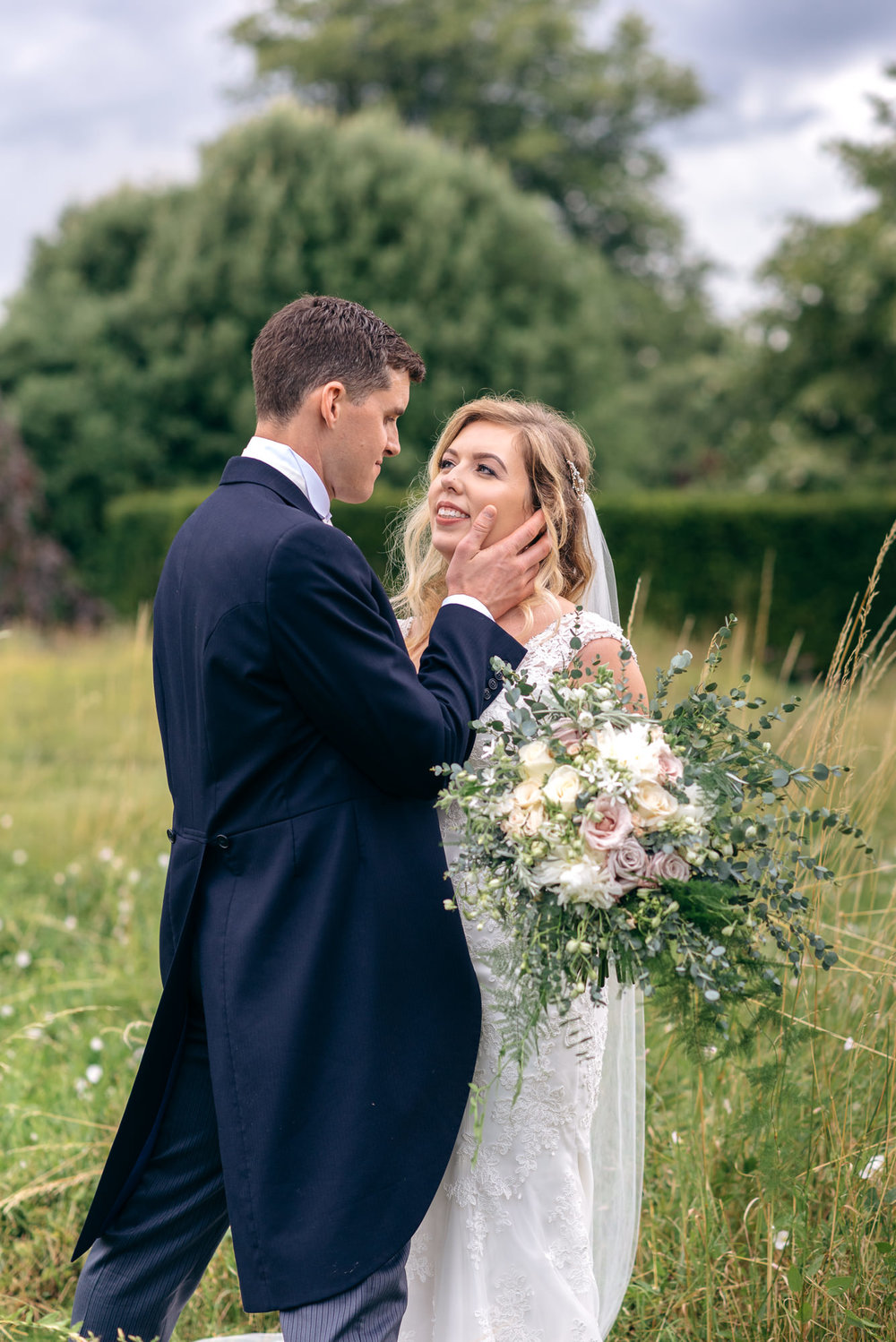Narborough Hall gardens wedding photographer