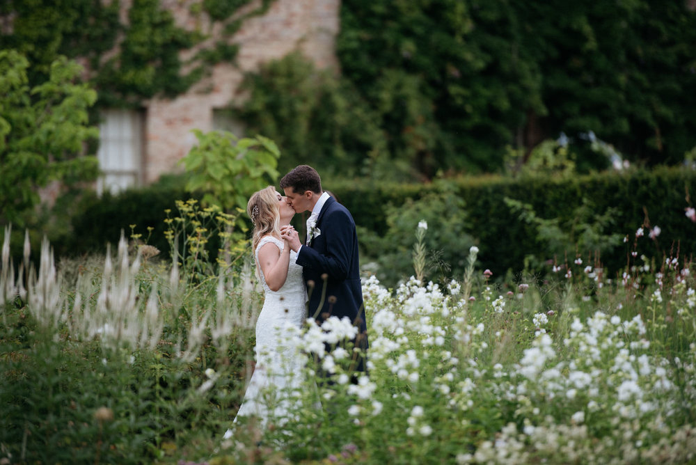 Narborough Hall Gardens wedding photography