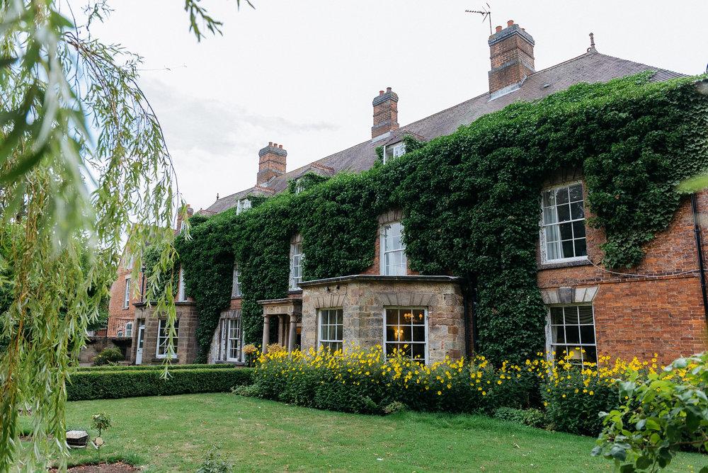 Gardens at Risley Hall