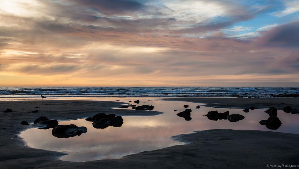 Terramar Beach in Carlsbad by Mark Ley