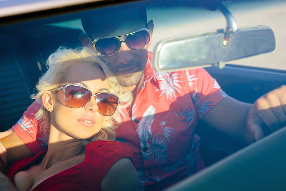 True Romance Inspired Shoot