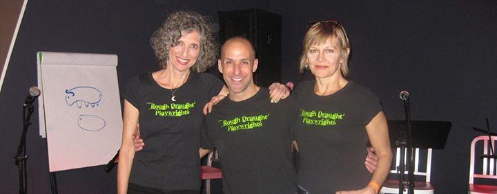 Leslie C. Lewis, Jeffrey Neuman, & Nina Miller - Rough Draught Playwright Producers