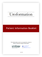 Click the image above to download our Radical Prostatectomy patient booklet