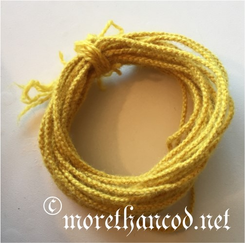 Whip cord used for tying curtains