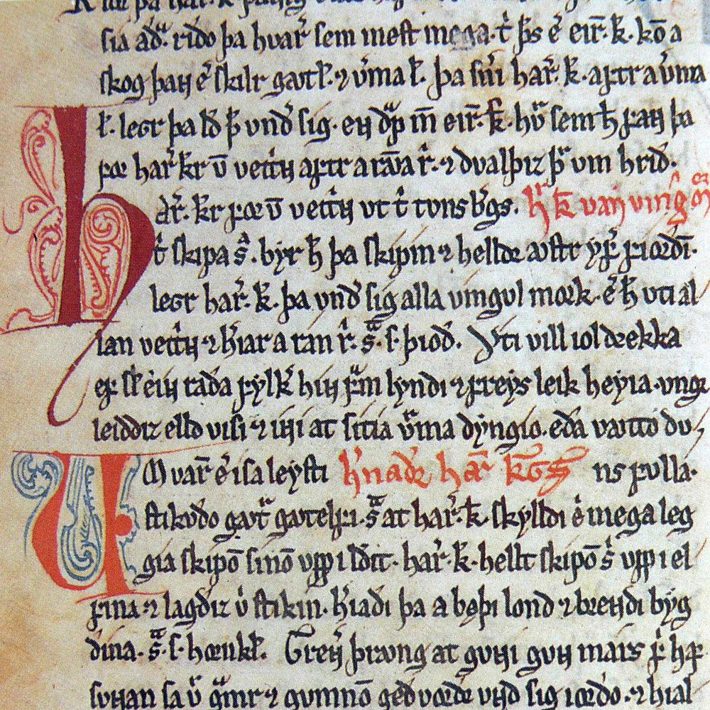 From the  Codex Frisianus  (public domain, via Wikipedia Commons)