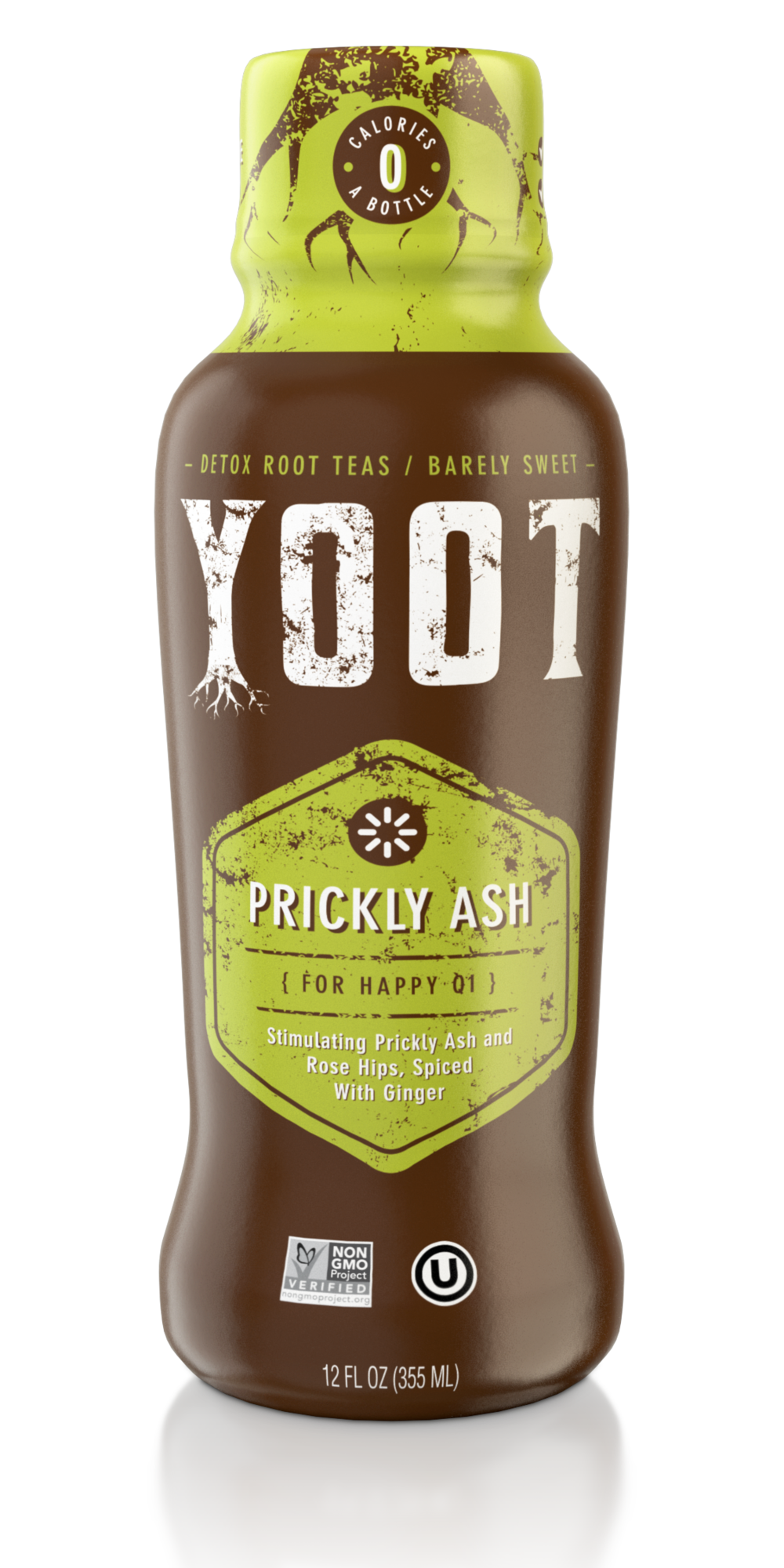 Prickly Ash Root Tea - [ For Happy Qi ]12 Fl oz (355 ml)