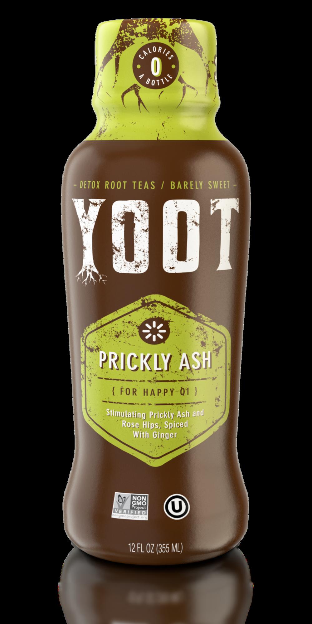 Prickly Ash Root Tea - [ For Happy Qi ]12 Fl oz (355 ml)