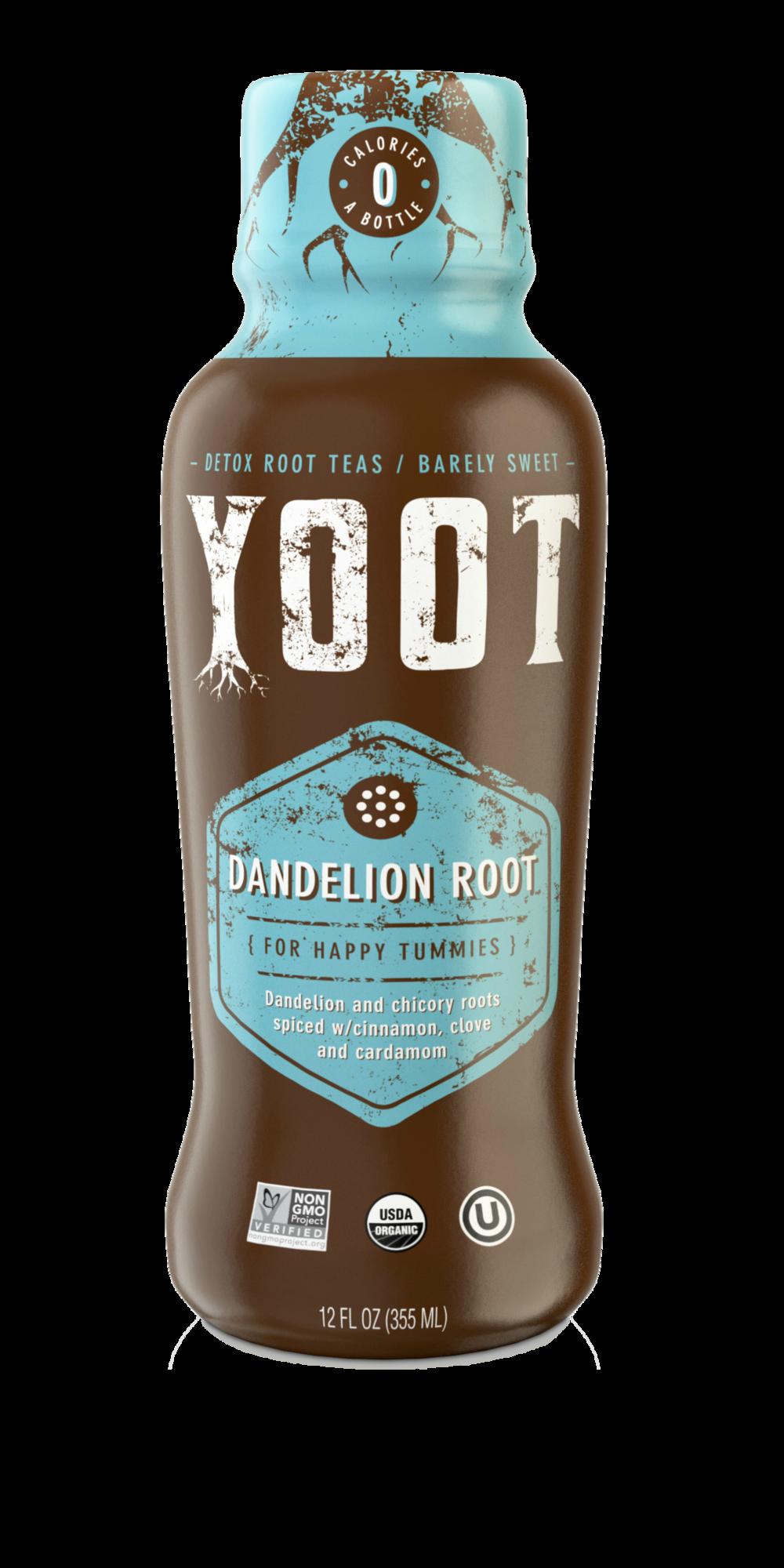 Dandelion Root Tea - [ For Happy Tummies ]12 Fl oz (355 ml)