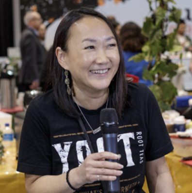 Nansee at Expo West 2018 with  BevNet's Taste Radio