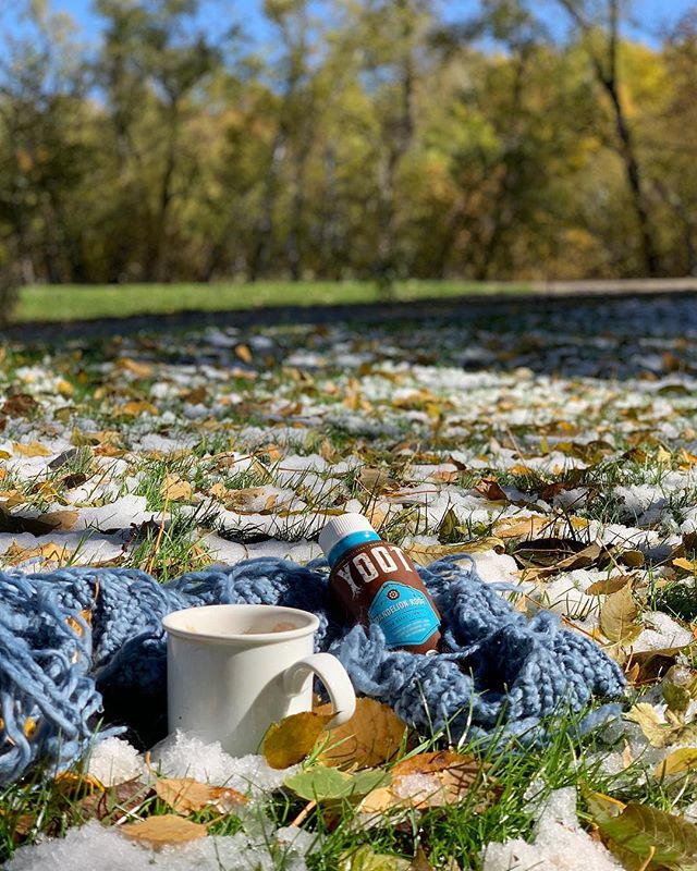 What's your favorite winter ❄️ ritual? Ours has to be a walk in the cold morning sun with a mug of Chai Dandelion #yoottea. 😌 Nothing beats feeling nature like that. . . . . #saturday #rituals #itswhatsunderneath #plantmedicine #holistichealing #dandeliontea #caffeinealternative #chicorycoffee #foodasmedicine #adaptogens #organic #tea #roottea #herbaltea #ayurveda #health #wellness #guthealth #cleanse #detoxtea #vegan #teatime #tealove #chaitea #glutenfree #vegan #winter