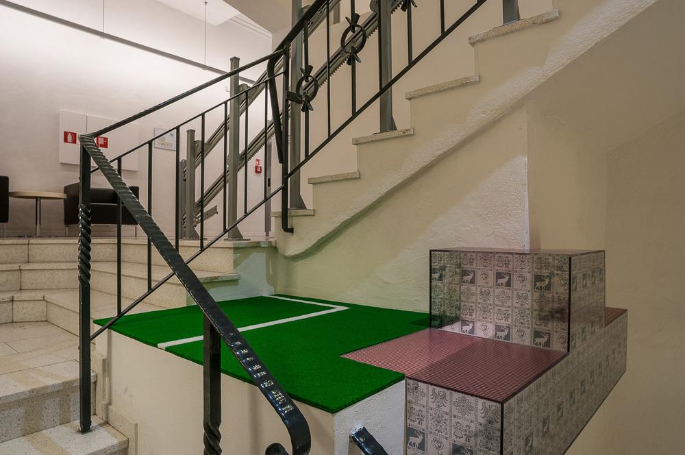 Stiegenhausinstallation, 2005