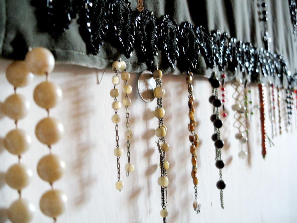 Detail textiler Wandbehang, 2009