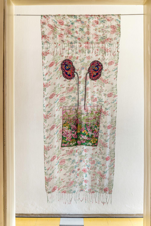 SPRING 2014  textile composition 60x170cm