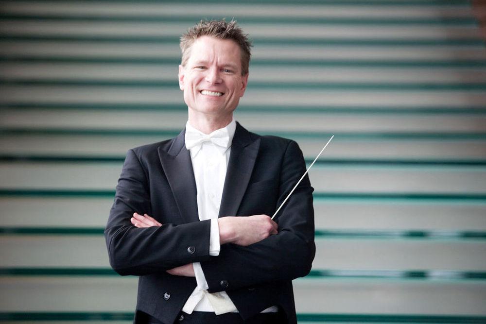 Omaha Symphony's Resident Conductor Ernest Richardson