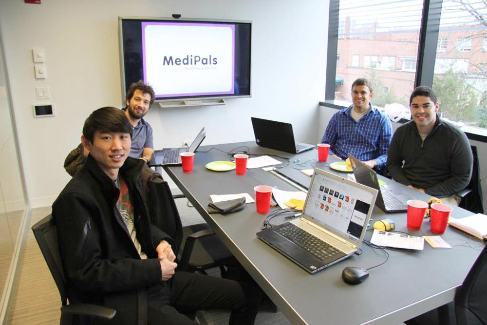 Competition Team (from left)Junpei Okai, Nicholas Caplan, Tony Dalton, Austin Muñoz,(not pictured) Rebecca Sylvers, Mohan Yin