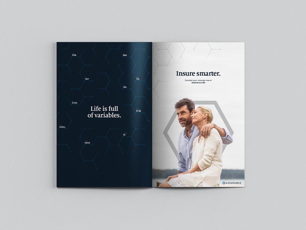 Magazine ad concept