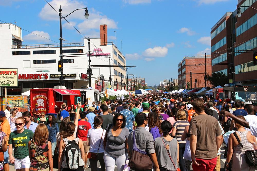 H Street Festival Crowd