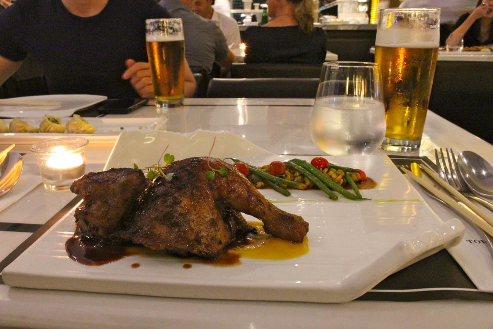 T.E Half Chicken at Todd English Food Hall