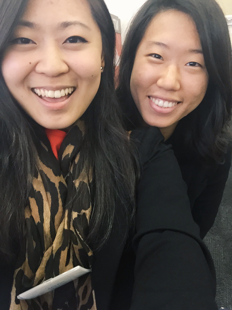 After graduation, this girl moved to New York and I stayed in DC. I was in New York one day for work,and we realized I was on the same block as where her office was located. We quickly met up for five minutes and took this photo.