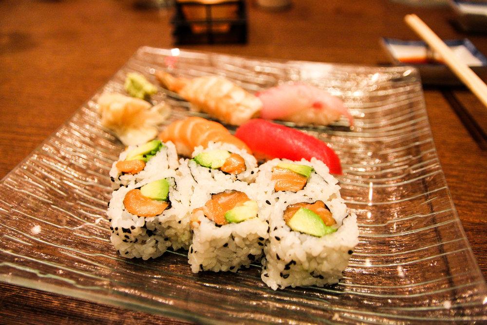 Third Course: Sushi Moriwase