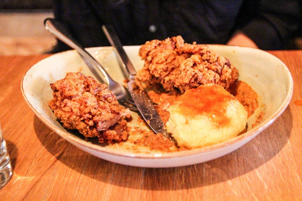 Winner: Fried Chicken!