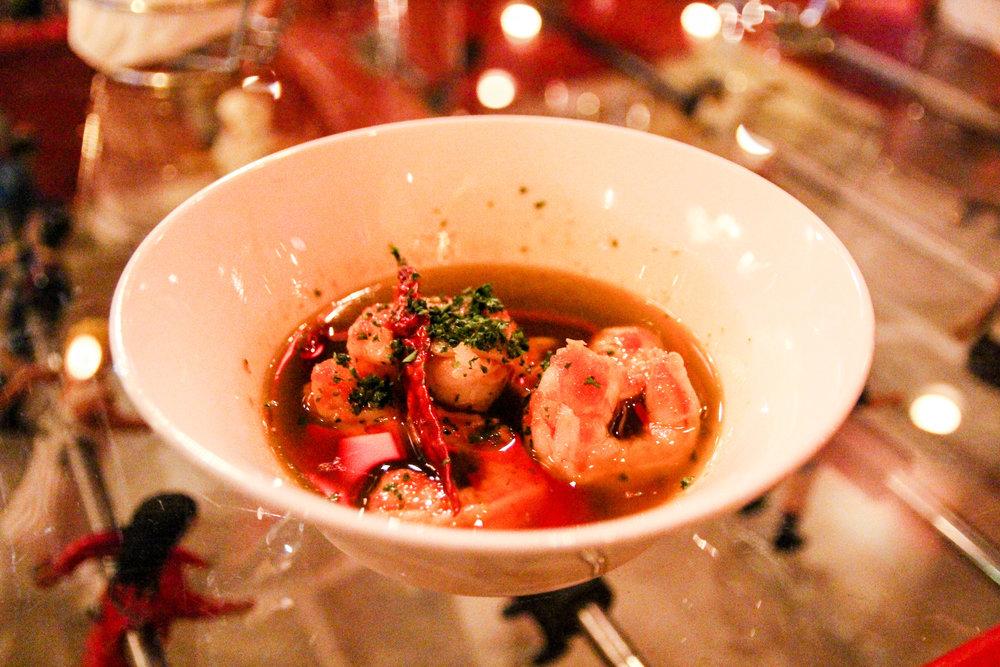 Gambas al ajillo aka shrimp