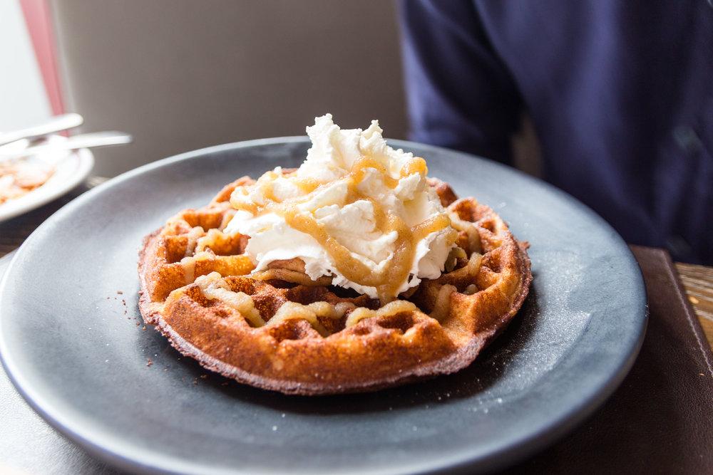Graham Cracker Waffle
