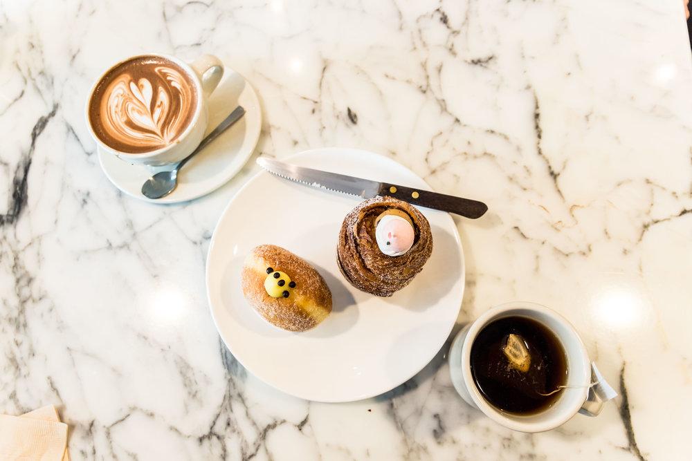 Cafe Mocha & Earl Grey Tea