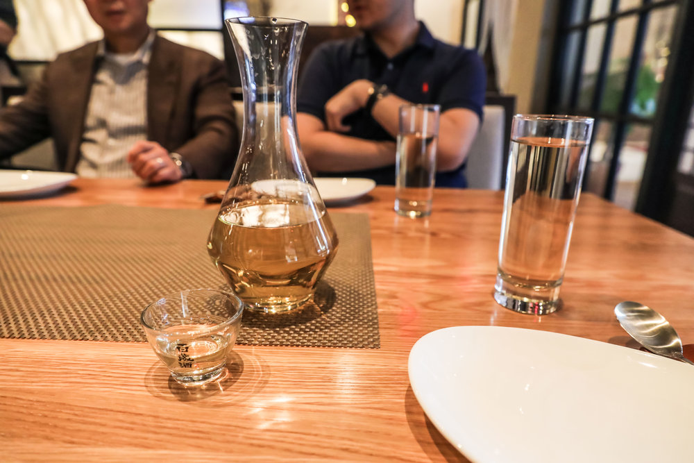 Korean rice wine & soju