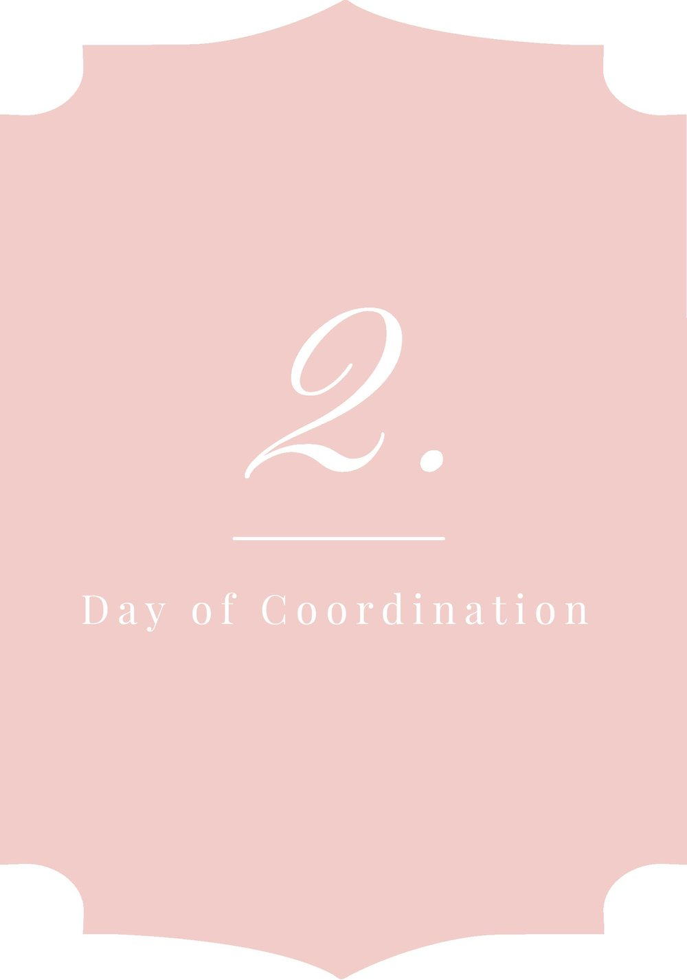 Day of Coordination 1000 & up