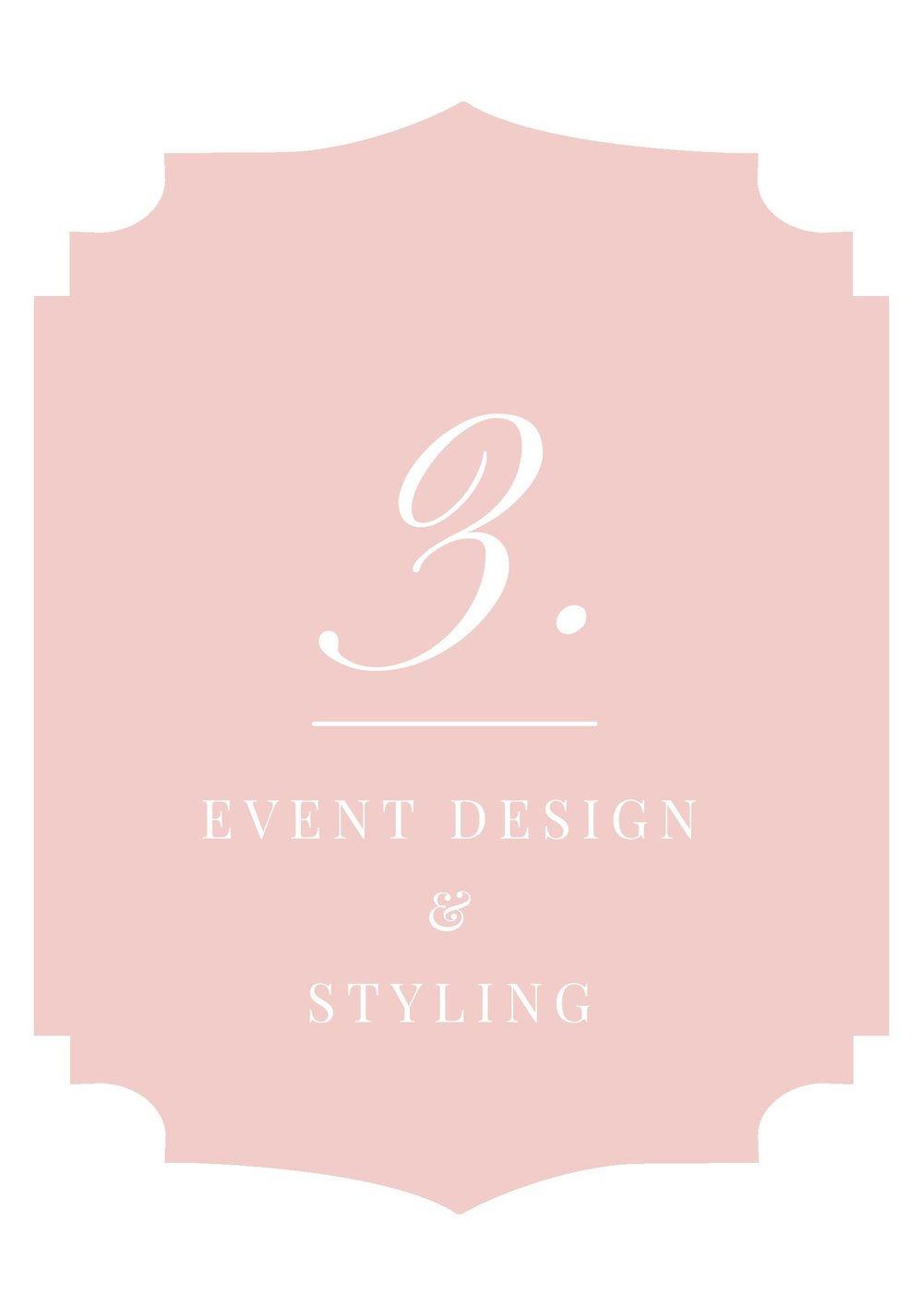 Event Design & Styling 500 & up