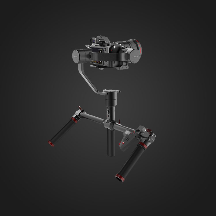 We use a video stabilizer called a gimbal to produce smooth video.