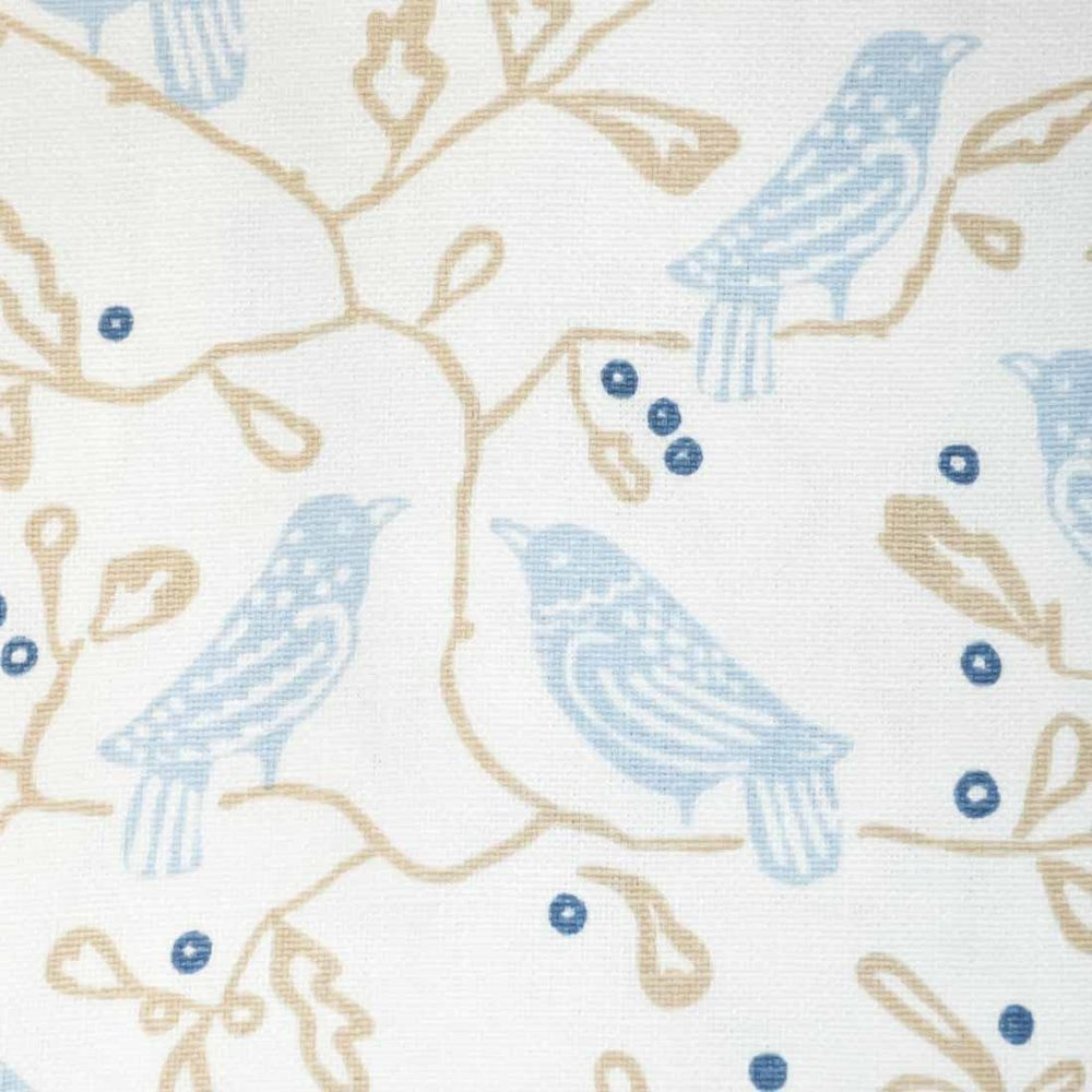Birds in Powder Blue