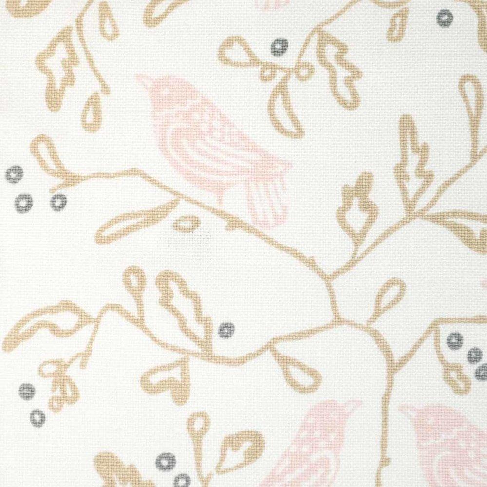 Birds in Petal Pink