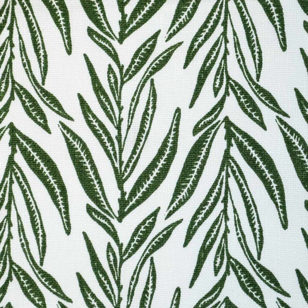 Leaves in Forest Green
