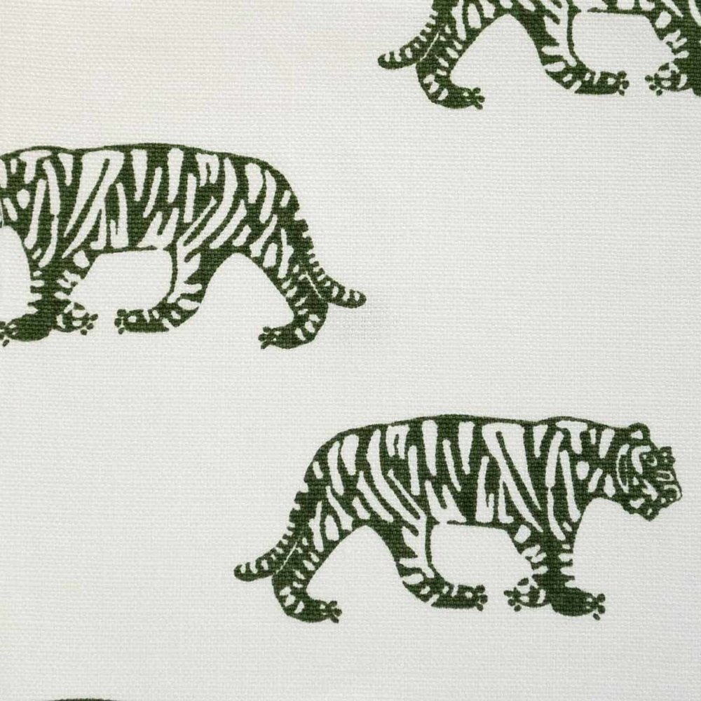 Tigers in Forest Green