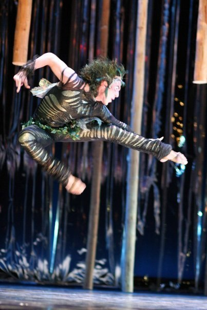 Performing - Puck in a Midsummer Night's Dream
