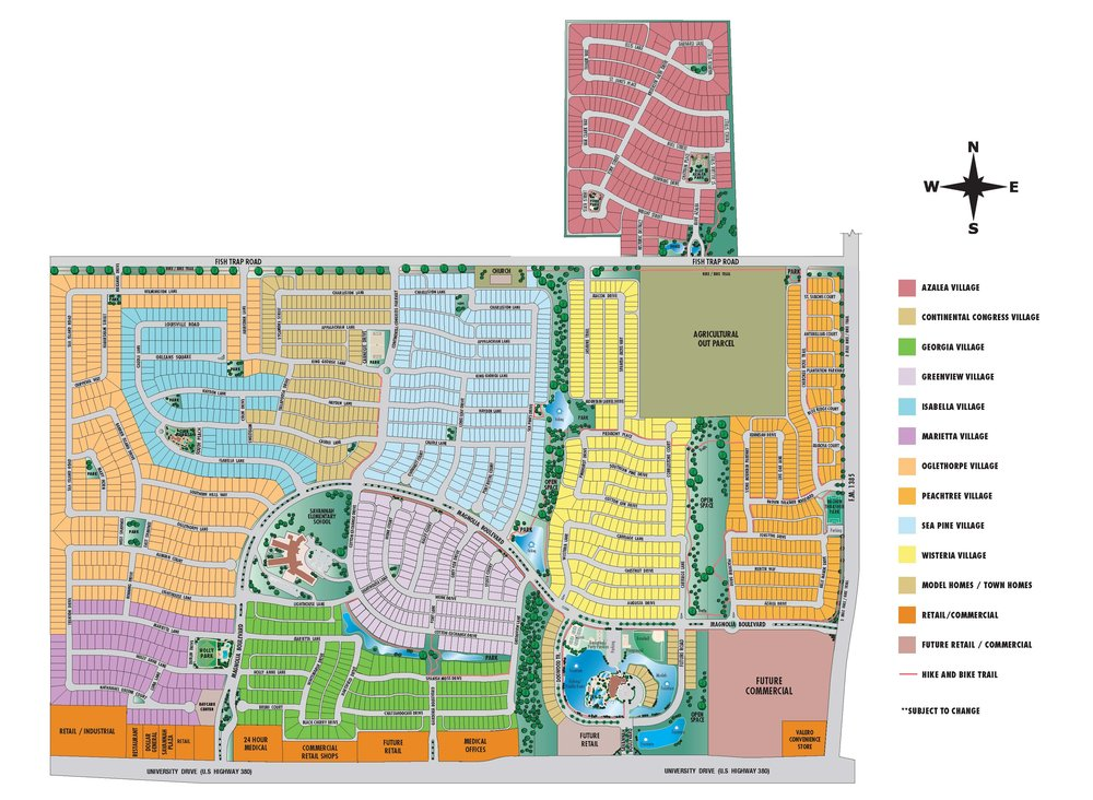 SAVANNAH MASTER PLAN
