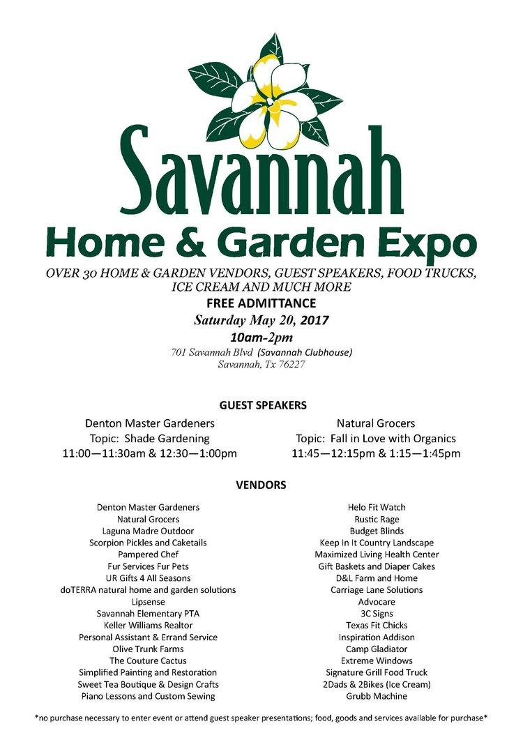 Savannah Home & Garden Expo — Savannah