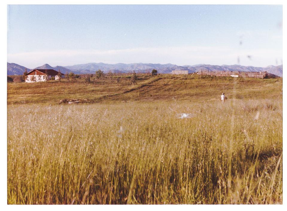 Vista al Norte a mediados de los años ochenta.