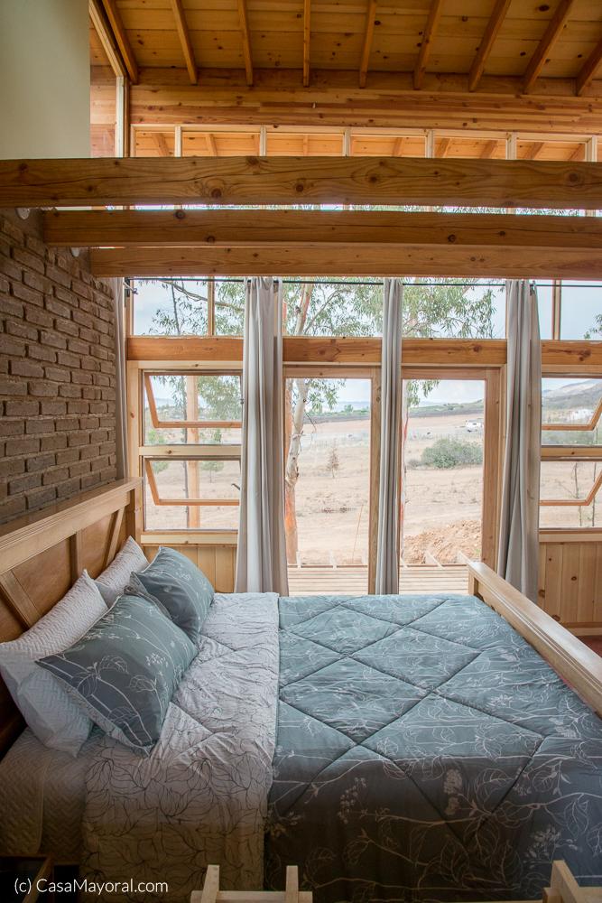 Las habitaciones cuentan con camas tamaño king.