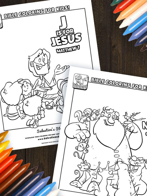 Heres A Printable PDF Featuring Some Of Our Favorite Bible Characters And Illustrations Download Enjoy Share With Your Friends
