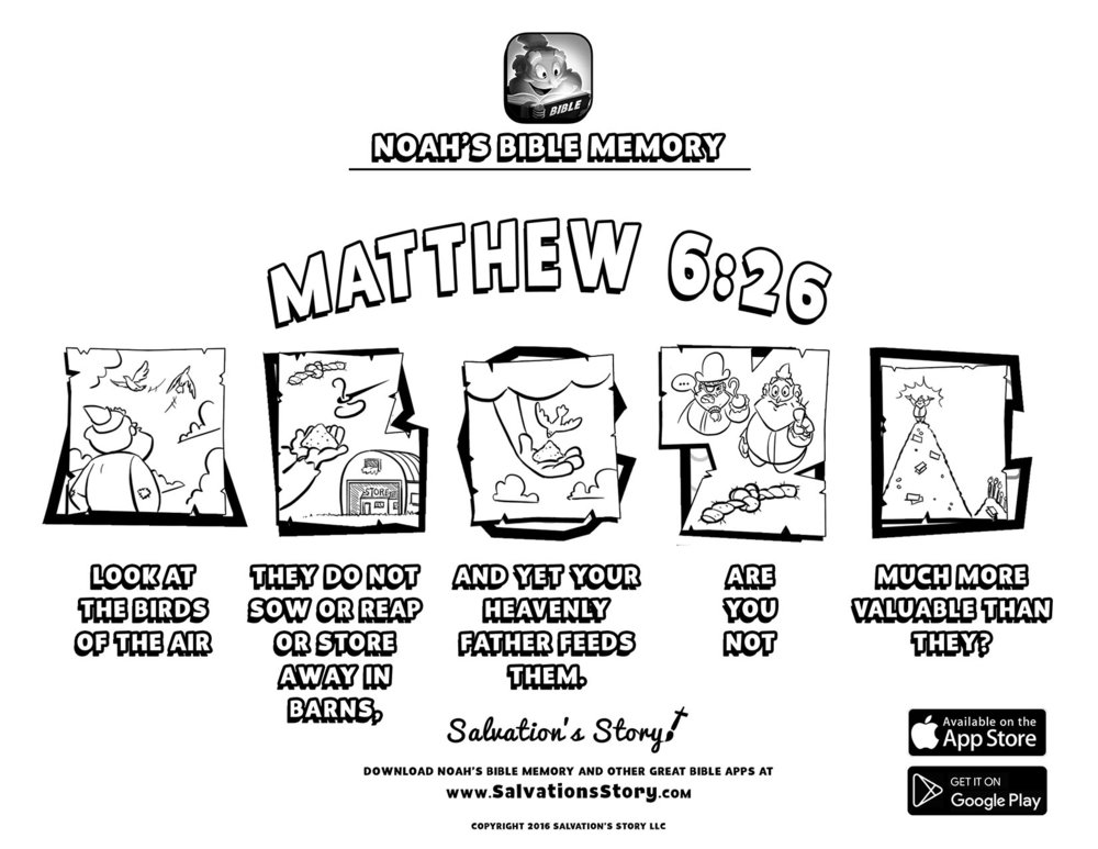 Salvations Story - Bible Memory  Matthew 6-26.jpg