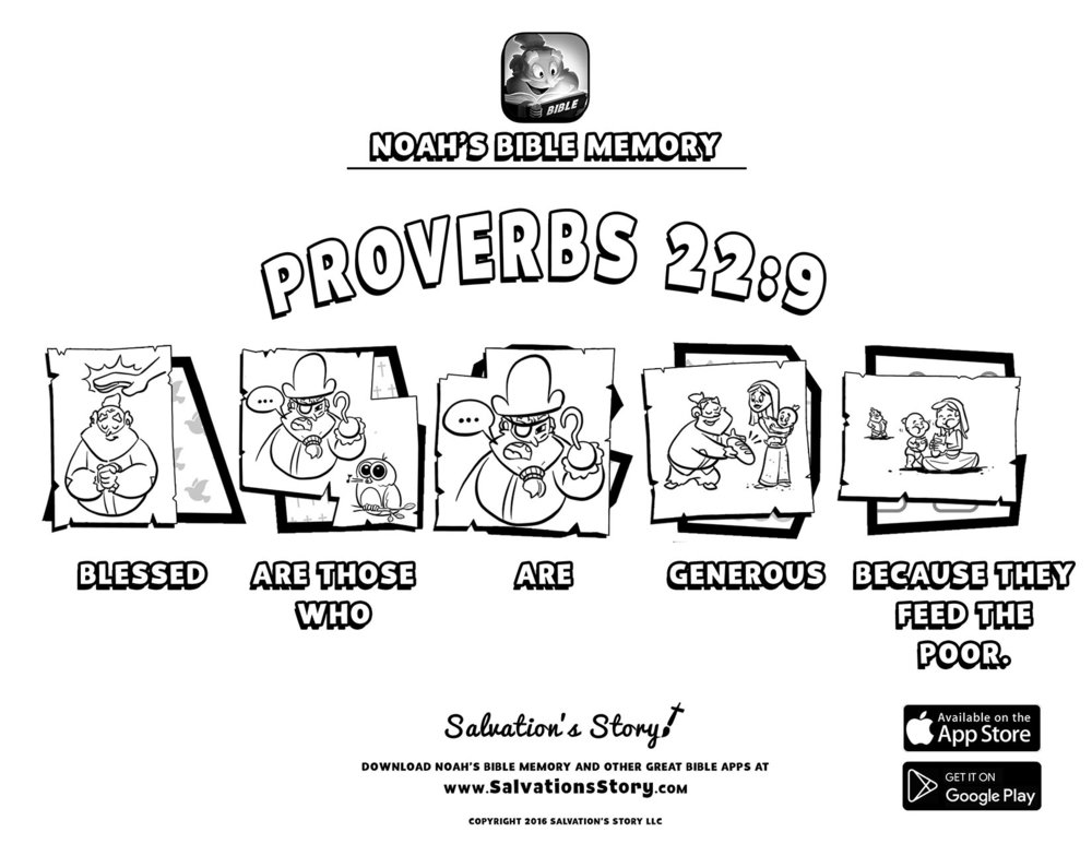 Salvations Story - Bible Memory  Proverbs 22-9.jpg