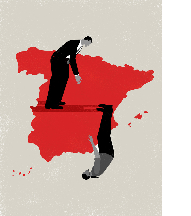 Diferent perception of reality among spanish political leaders