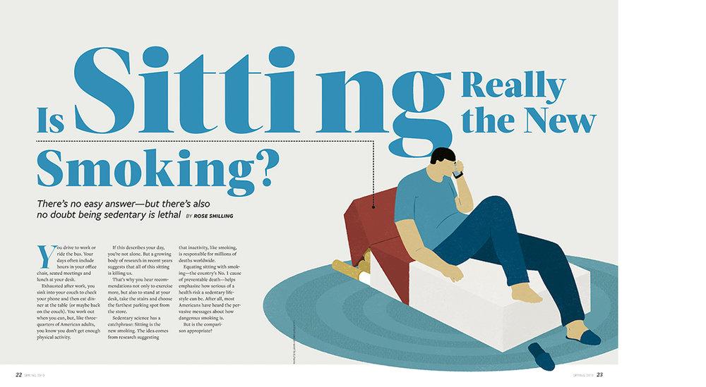 Vim & Vigor Magazine - Is sitting really the new smoking?