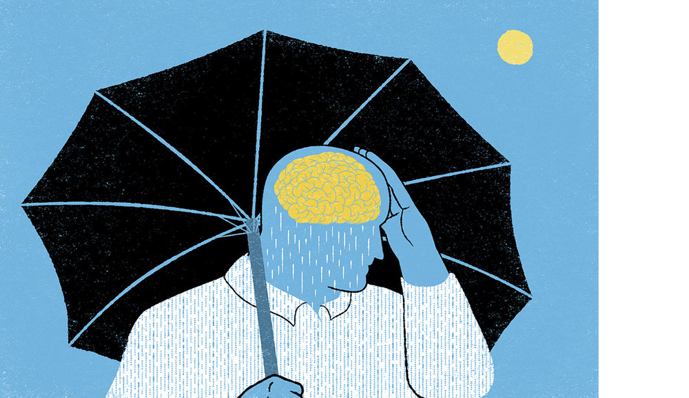 GQ - How to prime your brain to be happy